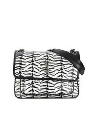Saint Laurent Tiger Print Medium Niki Chain Bag