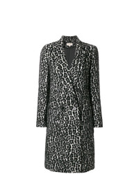 MICHAEL Michael Kors Michl Michl Kors Leopard Jacquard Coat