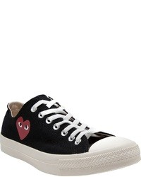 Black and white low top sneakers original 4255526