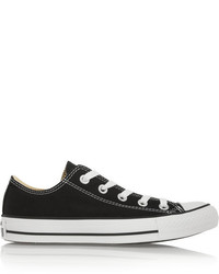 Chuck taylor all star canvas sneakers black medium 154519