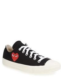 Play x converse chuck taylor low top sneaker medium 258003
