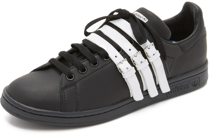 newest collection 51c14 f947b £369, adidas Raf Simons Stan Smith Strap Sneakers