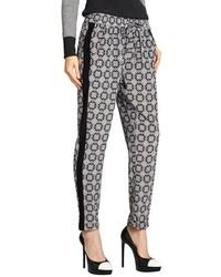 Black and White Pajama Pants