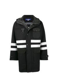 Junya Watanabe MAN Reflective Stripe Hooded Jacket