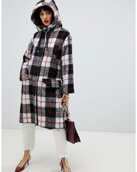 ASOS DESIGN Check Parka