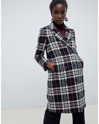 Selected Femme Wool Check Coat