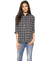 Popover button down shirt medium 100664
