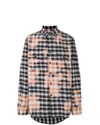 Marcelo Burlon County of Milan Bleached Print Shirt