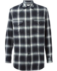Plaid shirt medium 321762