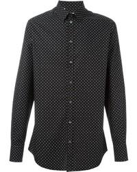 Polka dot print shirt medium 414369