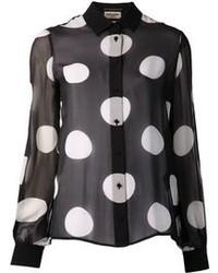 Polka dot shirt medium 91128
