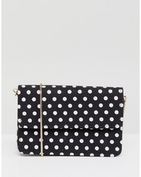 Miss Selfridge Polka Dot Across Body Bag