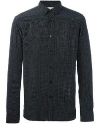 Polka dot print shirt medium 1148176