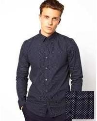 Shirt with polka dot print medium 106019
