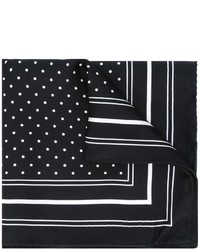 Polka dot print pocket square medium 876782