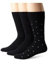 Black and White Polka Dot Socks
