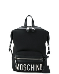 Moschino Front Logo Sports Backpack