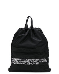 Calvin Klein 205W39nyc Slogan Drawstring Backpack