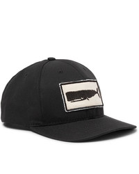 Mollusk Appliqud Cotton Twill Baseball Cap