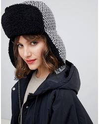 ASOS DESIGN Geo Trapper Hat