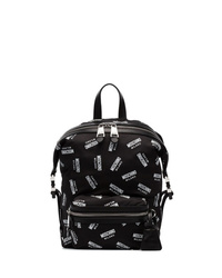 Moschino All Over Logo Backpack