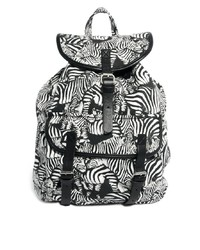 Monki Edla Zebra Print Backpack