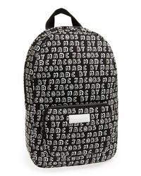 Marc by Marc Jacobs Logo Print Laptop Backpack Black Multi