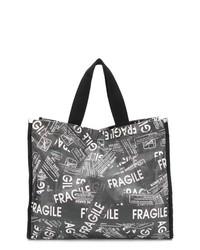 MM6 MAISON MARGIELA Fragile Print Tote