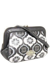 Black and White Print Clutch