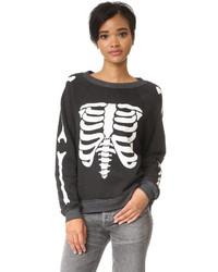 Wildfox inside out sweatshirt medium 1087986
