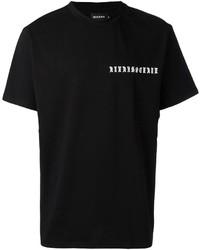 Logo chest print t shirt medium 3644396