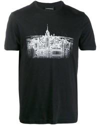 Emporio Armani New York Skyline T Shirt