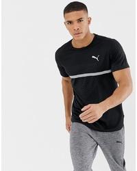 Puma Running Graphic T Shirt In Black 516944 08
