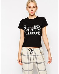 See by Chloe See By Chlo Peek A Boo Short Sleeve T Shirt