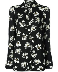 Flower print shirt medium 1213480