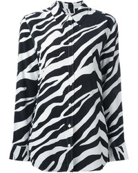 Zebra print shirt medium 1213460