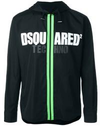 Logo zipped up hoodie medium 446158