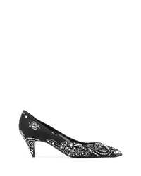 Saint Laurent Bandana Print Pumps