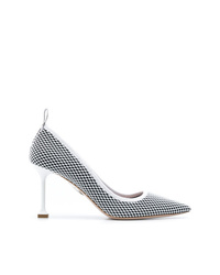 Miu Miu Pointed Fishnet Pumps