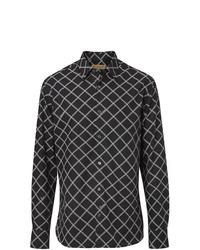 Burberry Link Print Poplin Shirt