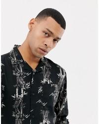 Bellfield Shirt With Bamboo Print