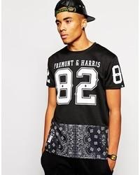 Fremont harris oversized t shirt in mesh medium 121351