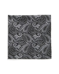 Topman Paisley Pocket Square