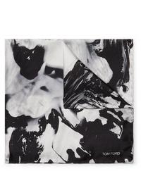 Tom Ford Printed Silk Twill Pocket Square