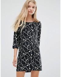 Vero Moda Abstract Print Shift Dress