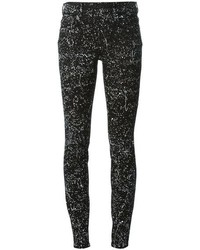 Splatter print jeans medium 88294