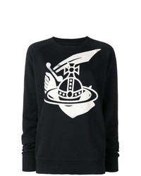 Vivienne Westwood Anglomania Orb Print Sweatshirt