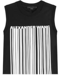 Alexander Wang Printed Cotton Tank