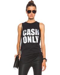 3.1 Phillip Lim Cash Only Foil Print Tank