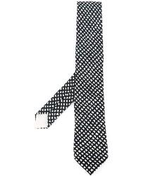 Herms Vintage Rhombus Print Tie